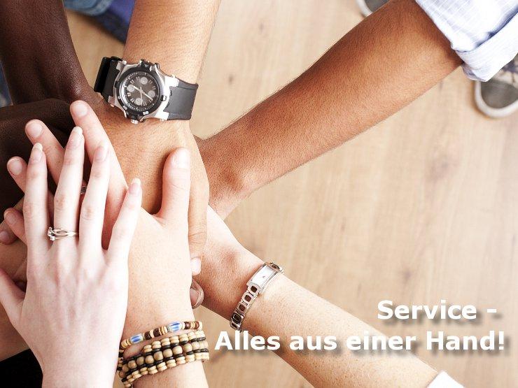 Unsere Services für Sie