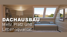 Sie haben gewhlt: Dachausbau!