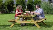 Gartentisch Picknick