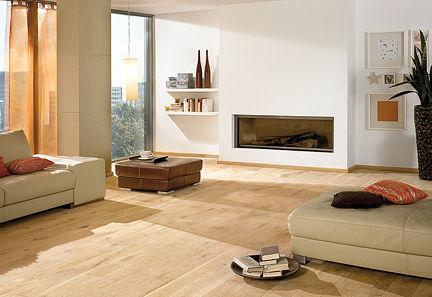 Massivholzdiele Raumgestaltung