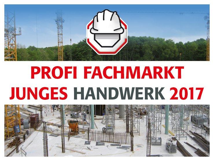 hagebau PROFI FACHMARKT Junges Handwerk 2017