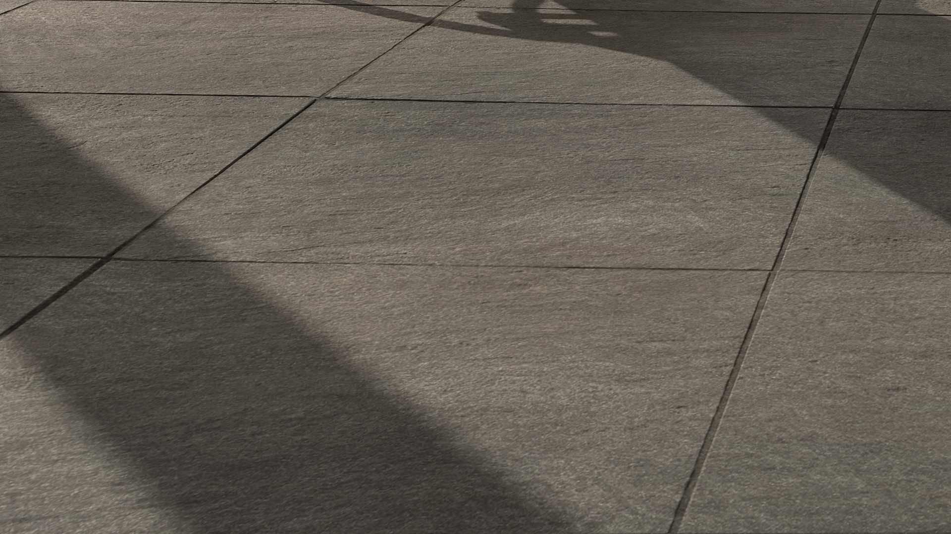 Terrassenplatten aus Keramik (Feinsteinzeug)