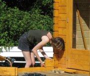 Die letzten Schritte zum eigenen Blockbohlenhaus