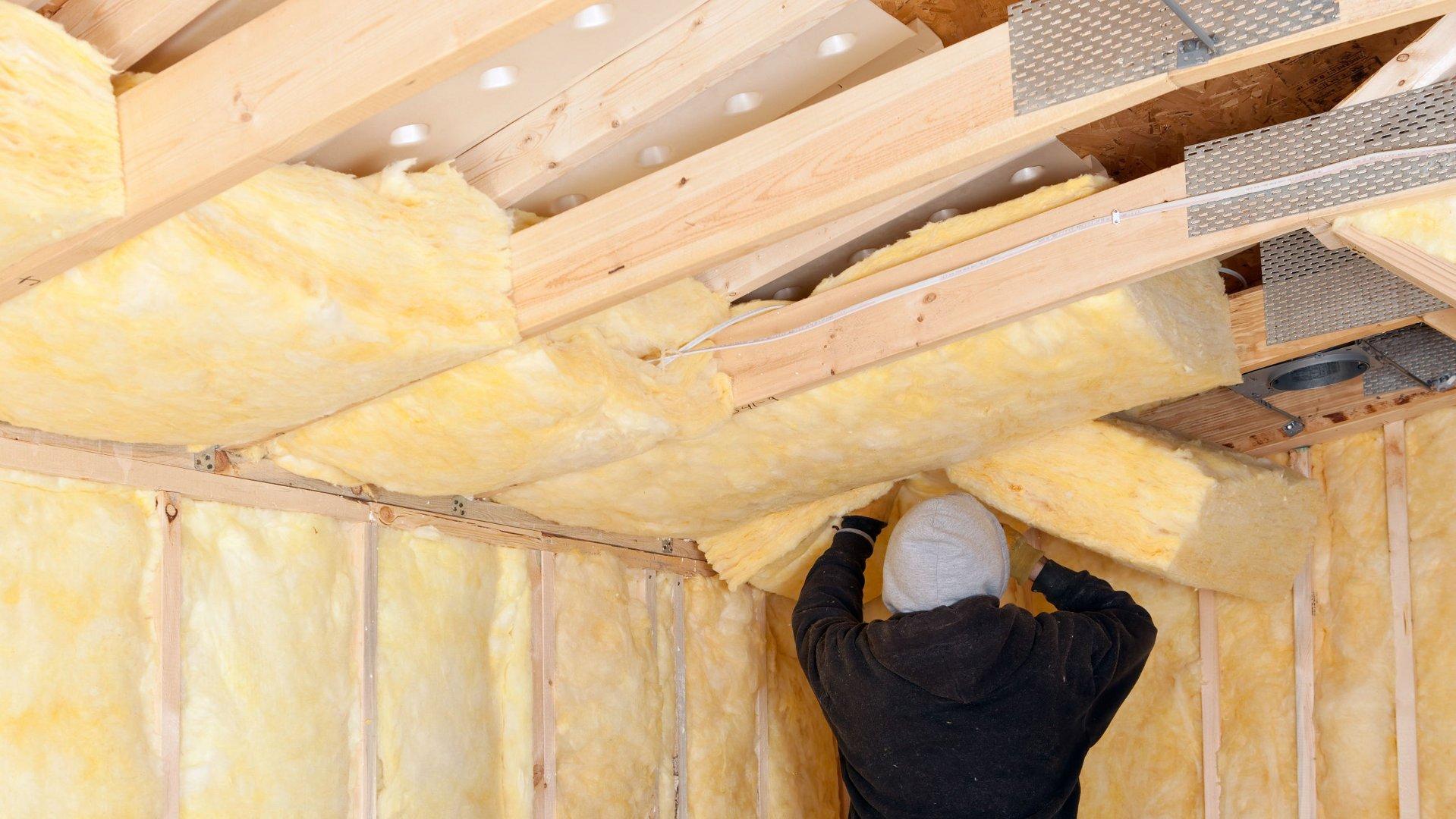 Dachgeschossdämmung