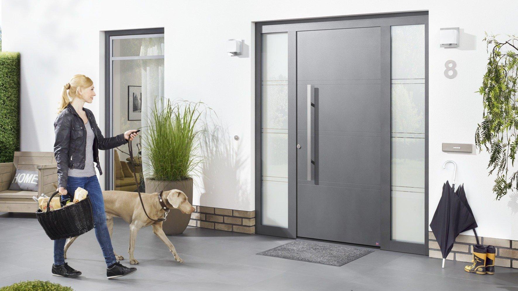 Smarte Technik für Die Tür