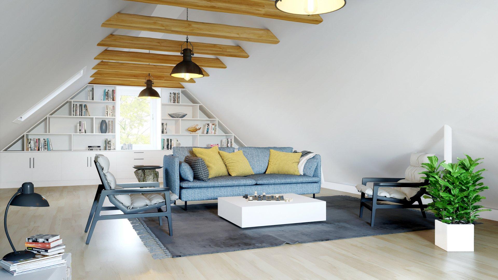 Knauf Insulation Dachwohnung