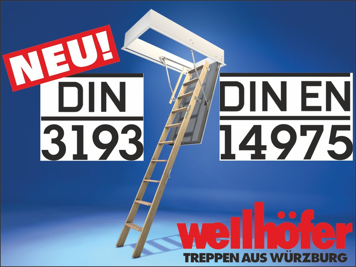 Bodentreppe din3193neu dinen14975