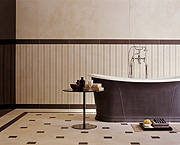 Der Keramikbelag lässt Schimmelpilzen wenig Chancen und eignet sich daher ideal als ästhetische und hygienische Lösung für Feuchträume wie Küchen, Bäder und Toiletten. (Foto: epr/EUF)