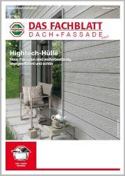 hagebau Fachblatt Dach und Fassade