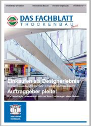 hagebau Fachblatt Trockenbau