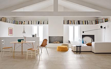 Eine Fußbodenheizung mit einem Belag aus keramischen Fliesen ist die perfekte Kombination für ein gesundes, behagliches und energiesparendes Wohnen.