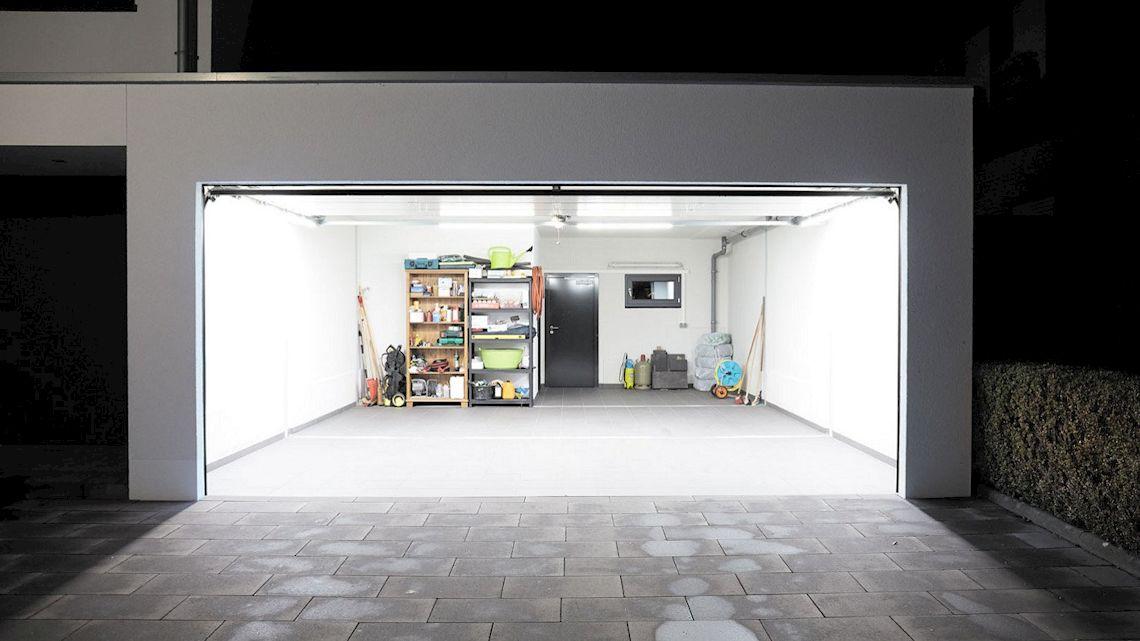 Teckentrup LED Garage