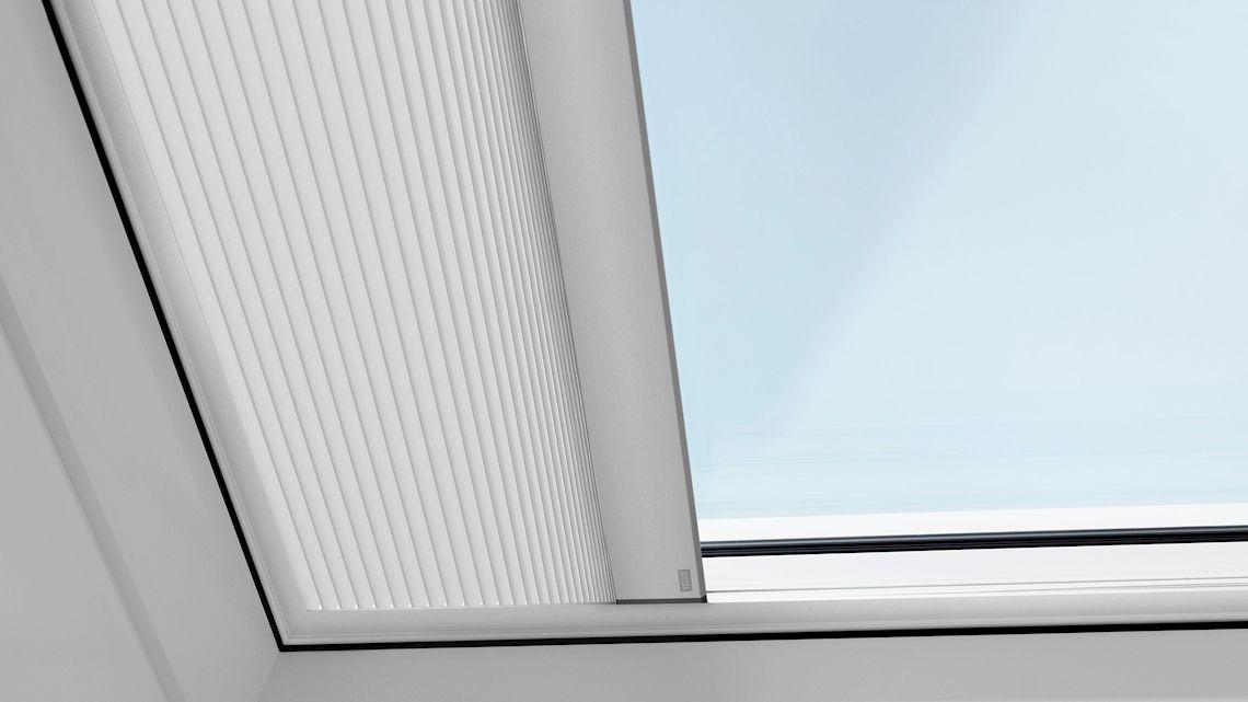 Velux Flachdach Fenster Plissee