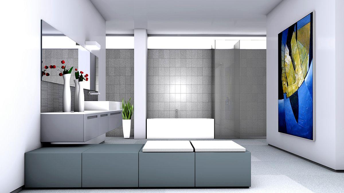 Badezimmer modern