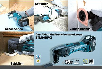 Makita Multifunktionswerkzeuge