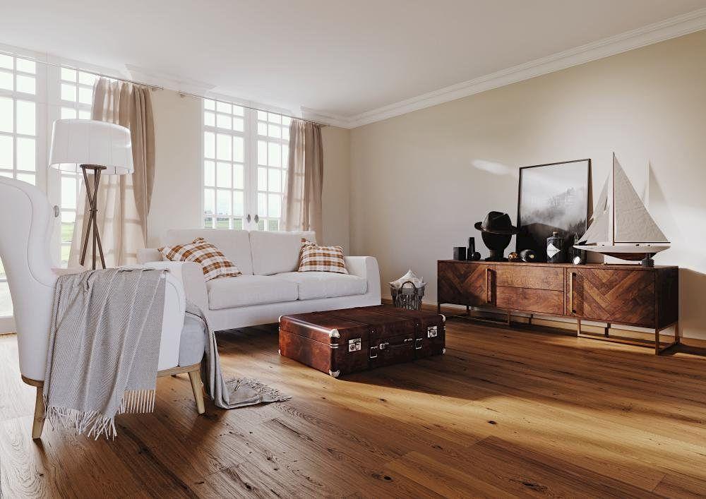 Osmo Wohnzimmer Fußboden Landhaus Eiche