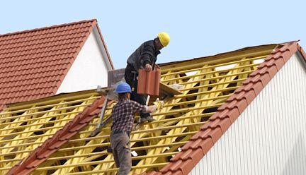 Nelskamp Dachziegel Dachdaemmung