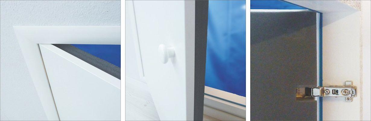 Kniestocktueren Qualitaet Produktdetails XL