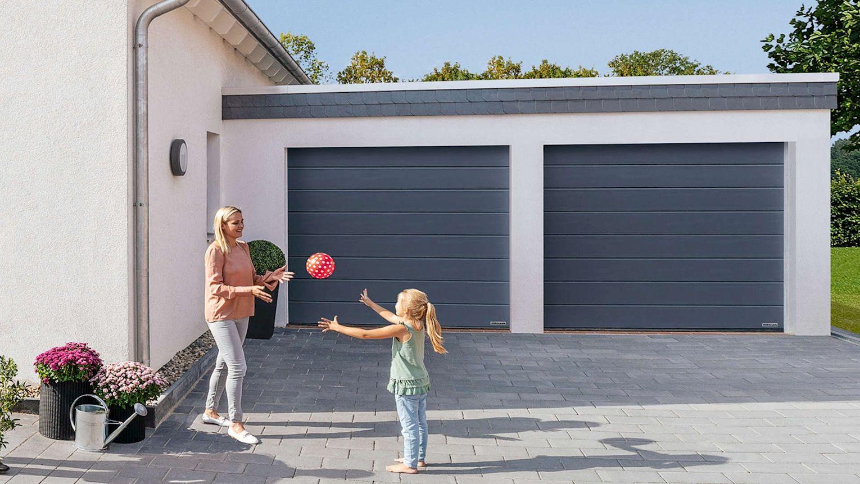 Hörmann-Sectionaltore können in jede Garagenöffnung eingebaut werden.
