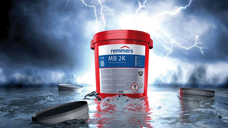MB 2K von Remmers ist der Allrounder in der erdberührten Bauwerksabdichtung