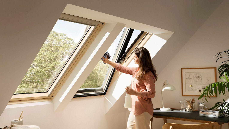 Velux Fensterputz