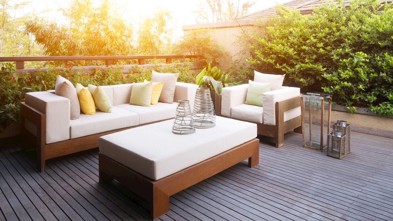 Terrasse Sommer Holz