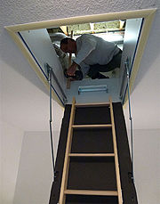 Wellhöfer Bodentreppe