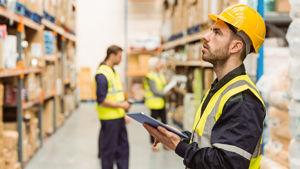 Lagerhaltung Baustoffhandel