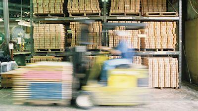 Ladehilfe Baustoffhandel