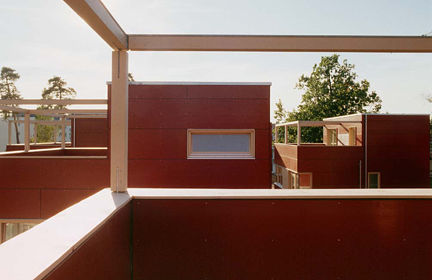 Holzhaus Baustoff