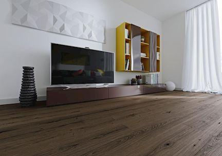 Osmo Wohnzimmer Fußboden Eiche graphit