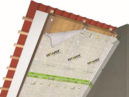 Vario® XtraPatch ist Teil des patentierten Vario® Xtra-Systems. Dabei erfolgt die Fixierung der Klimamembran Vario® XtraSafe nicht mittels Tackern sondern über Kletten.