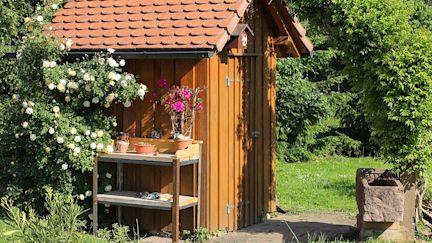 Gartengestaltung Garten Holz
