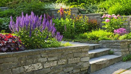 Pflastersteine Gartengestaltung Natursteinpflaster