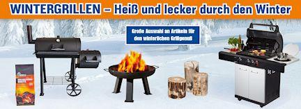 Alle Artikel für das perfekte Wintergrillen - jetzt bei Werkers Welt!