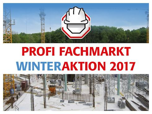 hagebau PROFI FACHMARKT WinterAKTION 2017