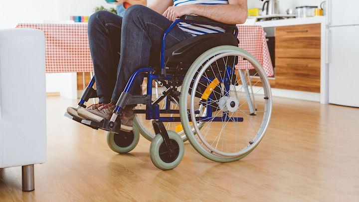 barrierefreies Wohnen - Rollstuhl