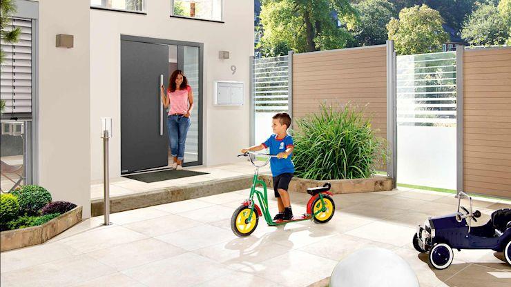 Hörmann Haustüren der Reihe ThermoSafe erfüllen hohe Anforderungen.