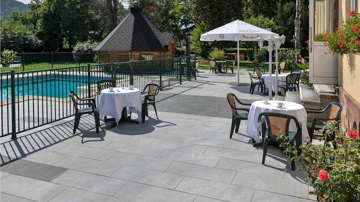 Vorteile der KANN BETONPLUS Terrassenplatten