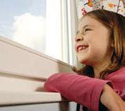 Fenster Kind Energie sparen